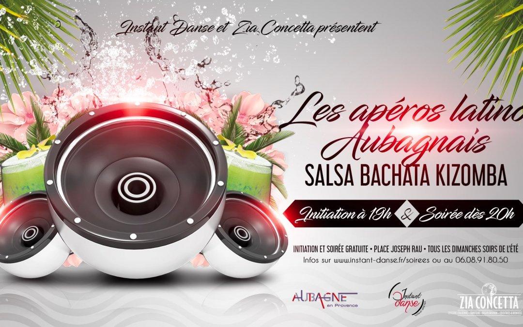 Les Apéros Latinos Aubagnais – 14 Juillet 2019