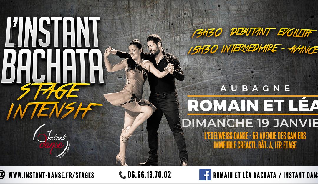 L'Instant Bachata : Stage Intensif avec Romain et Léa